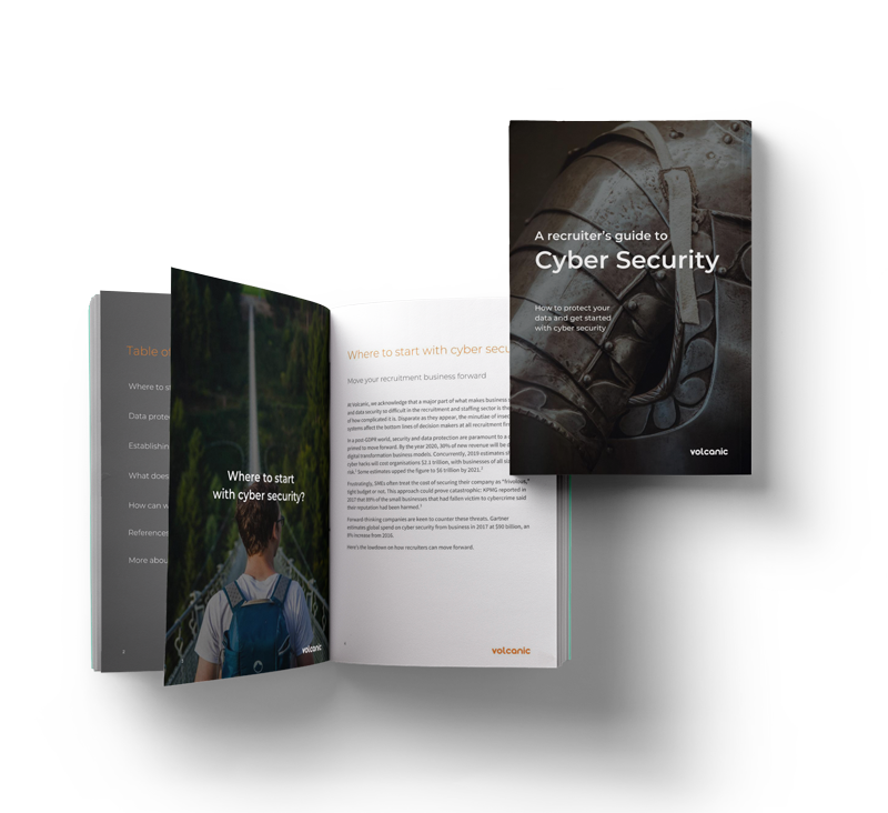 Download the Guide to Cyber Secruity for Recruiters Today